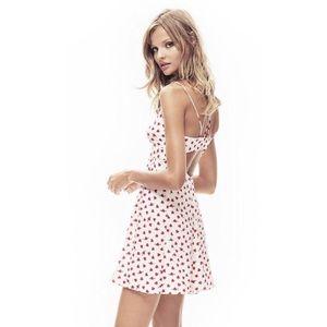 EXPRESS Heart and Arrow babydoll dress